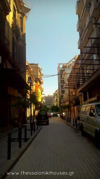 Άποψη της οδού Εδέσσης σήμερα www.thessalonikihouses.gr