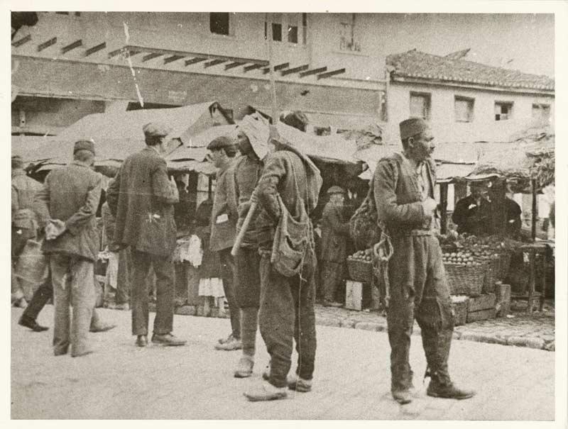 Αγορά της Θεσσαλονίκης τέλη 19ου αιώνα-αρχές 20ου αιώνα