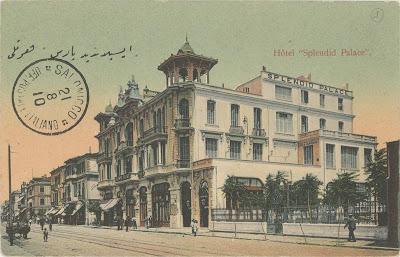 Το ξενοδοχείο Splendid ήταν η αποθέωση του εκλεκτικισμού
