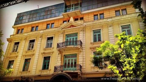 Μέγαρο Καζές- πλευρά Ίωνος Δραγούμη-Θεσσαλονίκη