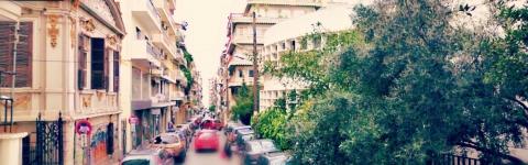 Η οδός Ευζώνων - Θεσσαλονίκη