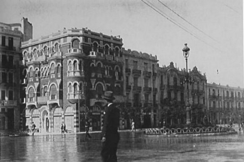Ο εκλεκτικισμός δεσπόζει στην οδό Αγίας Σοφίας στα 1920