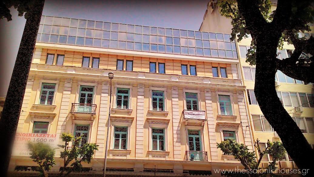 Μέγαρο Καζές- πλευρά Τσιμισκή- Θεσσαλονίκη