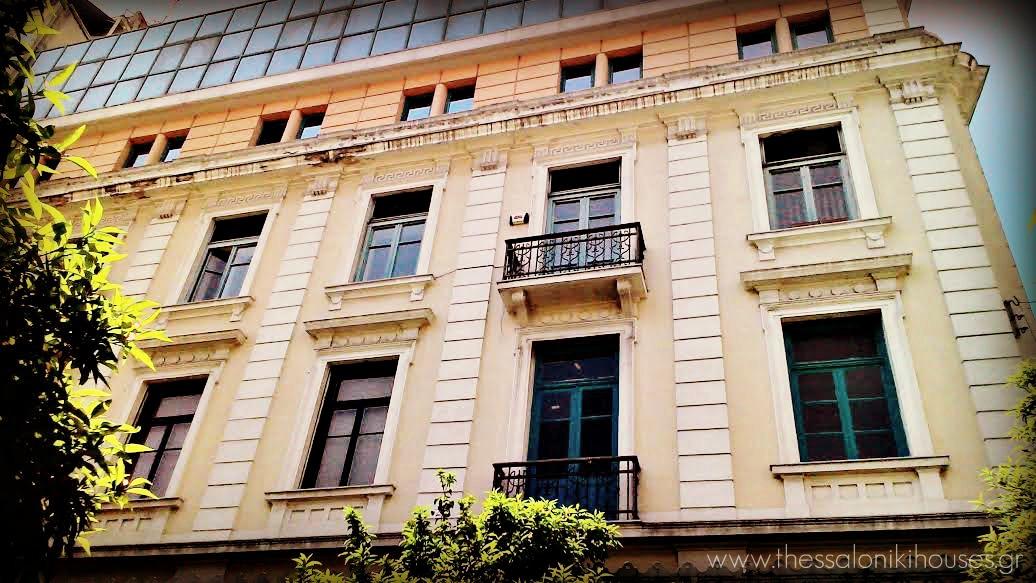 Μέγαρο Καζές- πλευρά Αγίου Μηνά- Θεσσαλονίκη