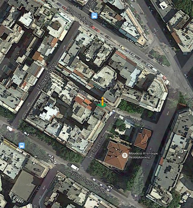 Τα δρομάκια γύρω από το τουρκικό προξενείο